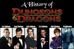 A history of Dungeons and Dragons <----- most accurate comparison I have ever…