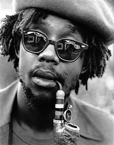 Peter Tosh was a Jamaican reggae musician. Along with Bob Marley and Bunny Wailer, he was one of the core members of the band the Waile. Peter Tosh, Dancehall Reggae, Reggae Music, Rasta Music, Reggae Concerts, Dub Music, Jah Rastafari, Damian Marley, Beauty