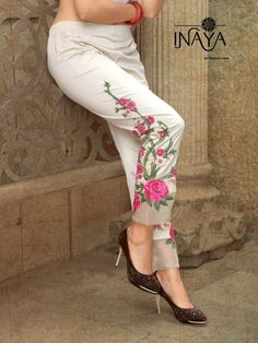 Specification : NAME : Inaya By Studio Libas TOTAL DESIGN : 3 PER PIECE RATE : 699/- FULL CATALOG RATE : 2097/-+(5%GST) + Shipping Charge WEIGHT : 2 SIZE : L | XL Type : Palazzo/Pants/Patiyala MOQ : Minimum 3 Pcs. Fabric Description : 100% Pure cotton fabric with stretchable fabrics | L size( 28-34), XL size( 36-42) UPCOMING DATE : 13-06-2018
