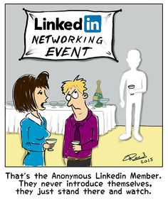 LinkedIn connections that seek to take them outside of LinkedIn