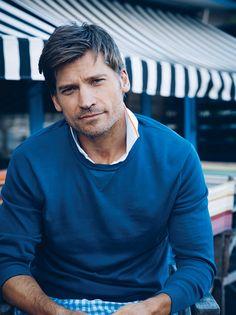 Nikolaj Coster Waldau. I'm all about that Jaime Lannister.