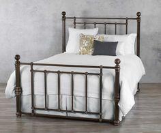 Wesley Allen Hancock Iron Bed Western Bedroom Furniture