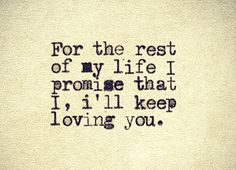 """(For the rest of my life I promise that I,) """"I'll Keep Loving You"""" -- David Guetta (feat. Birdy and Jaymes Young)"""