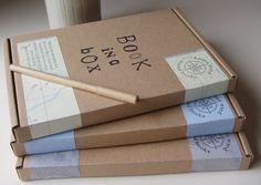 Book in a Box Kit by Homewardboundbooks on Etsy, £12.00  http://www.etsy.com/listing/103536234/book-in-a-box-kit?utm_source=Facebook_medium=Internal_UK_campaign=Merch