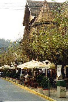 Charmosos restaurantes e bares do centro de Campos do Jordão, São Paulo. #Brasil #Viagem