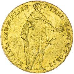 Ferdinand I./V. 1835 - 1848 Dukat 1848 ungarische Legende Gold