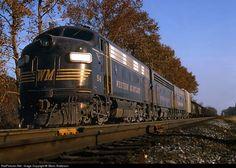 RailPictures.Net Photo: WM 54 Western Maryland Railway EMD F7(A) at Hagerstown, Maryland by Glenn Anderson