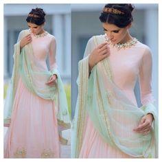 Pastel desi Pakistani Bengali Indian suit