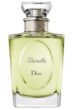 Diorella Christian Dior. This fresh, floral-chypre is gentle thanks to the floral notes which dominate the composition. Top notes are Sicilian lime and basil; honeysuckle and peach are in perfume's heart, while vetiver and oak moss are in the base. The nose behind this fragrance is Edmond Roudnitska.