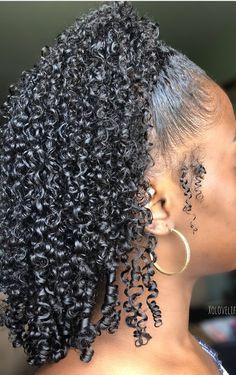 Natural Curls, Natural Hair Tips, Natural Hair Styles, Curly Hair Tips, Curly Hair Styles, Girls Natural Hairstyles, 4a Hairstyles, Hair Shrinkage, Natural Hair Inspiration