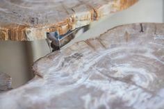#Petrifiedwood pattern, #furniture #aire #modern #shape #table #wood #organic #design