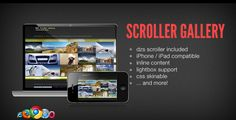 DZS Scroller Gallery - cool jQuery media gallery