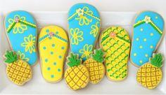 Fun Summer Cookies {Cookie Decorating} » Glorious Treats
