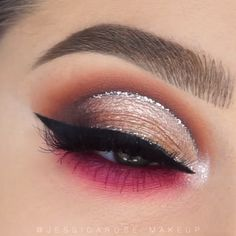 eyeshadow looks step by step / eyeshadow makeup . eyeshadow looks step by step . eyeshadow looks natural Makeup Eye Looks, Eye Makeup Steps, Beautiful Eye Makeup, Party Makeup Looks, Pretty Eye Makeup, Makeup Looks For Brown Eyes, Perfect Makeup, Cut Crease Makeup, Eyebrow Makeup