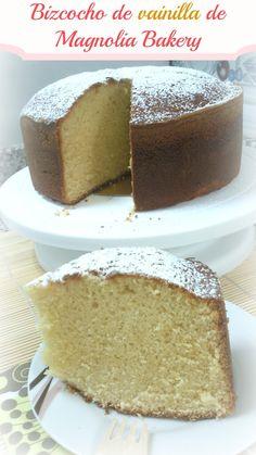 Salado no, ¡gracias!: ¡¡Bizcocheando los lunes: Bizcocho de vainilla de Magnolia Bakery!!