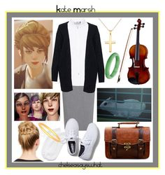 """""""Kate Marsh - Life is Strange"""" by chelseasayswhat ❤ liked on Polyvore"""
