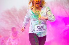 Color Run 5K, a different color every 1K! Can't wait for June, going to be the most fun I've had running!