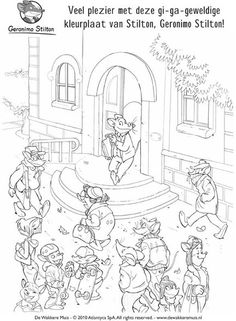free geronimo stilton coloring pages - thea sisters thea sisters colouring pages coloriage