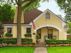 Curb Appeal Ideas From Dallas, Tx. | Landscaping Ideas and Hardscape Design | HGTV