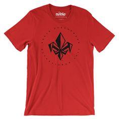 Mens FDL Short Sleeve T-Shirt - Red