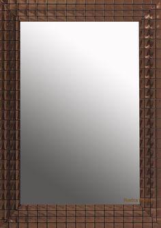 Custom copper mirror by Rustica House. #myrustica #rusticahouse #coppermirrors #homedecor