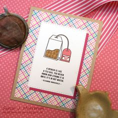 Hi everyone! Today is reveal day for the Simon Says Stamp February 2017 Card Kit: Coffee, Tea, and Cocoa . This month's card kit is wel...