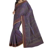12% off on Plum Violet Printed Cotton Sari - Printed Saree - Woven Borders. Buy now @ orangecheese.com. Free shipping in India. COD available. We deliver worldwide.