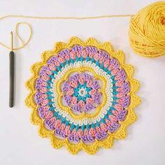 motif crochet de mandala