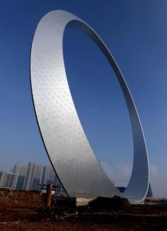 'L'anello della vita' a Fushun, Cina: bello e inutile? - Panorama