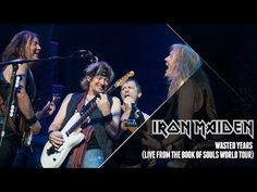 Iron Maiden - Wasted Years (Live from The Book Of Souls World Tour) - YouTube