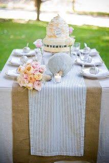 fun tablecloths  | Seersucker linens | Fun and Parties