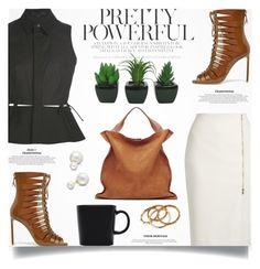 """Pretty Powerful With FSJ Shoes"" by jiabao-krohn ❤ liked on Polyvore featuring Alexander Wang, MaxMara, Jil Sander, Ashley Pittman, iittala, Allurez and fsjshoes"