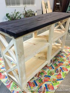 Woodworking Bench coffee bar inspired by ana white, diy, how to, painted furniture, woodworking projects Into The Woods, Diy Wood Projects, Furniture Projects, Outdoor Projects, Wood Crafts, Diy Crafts, Bar Furniture, Painted Furniture, Furniture Stores
