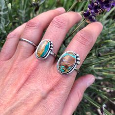 Two more lovely Royston rings finished up!  'Turquoise Lovers' shop update today with turquoise pieces at 8.30pm bst. First chance to buy over on my Instagram page @minerals_rock_studio at 7.30pm!! Handmade Sterling Silver, Sterling Silver Rings, Recycled Jewelry, Oval Rings, Boho Look, Rocks And Minerals, Turquoise Stone, Jewelry Box, Gemstone Rings