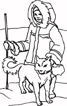 An Eskimo With Husky In The North Coloring Page : Color Luna Puppy Coloring Pages, Summer Coloring Pages, Birthday Coloring Pages, Pattern Coloring Pages, Free Coloring Sheets, Coloring Pages To Print, Printable Christmas Coloring Pages, Printable Adult Coloring Pages, Abstract Coloring Pages