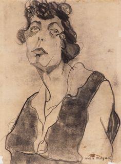 Anita Malfatti - Estudo para Boba (1915/1916)