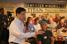 Marco Rubio Woos Conservatives in Urbandale
