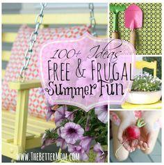 100+ Ideas for Frugal Summer Fun