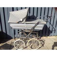 m.dba.dk Scandia Barnevogn Ry DK Vintage Pram, Prams And Pushchairs, Baby Strollers, Retro, Baby Prams, Prams, Retro Illustration, Strollers