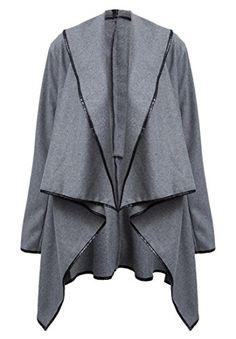YUNY Women Jacket Outwear Baseball Overcoat Printed Cardigan Coat Red XL