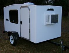 4' x 8' 1-2 Person Enclosed Camper Trailer - Made in the USA $2,500.00 ( SaferWholesale.com )