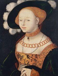 Hans Baldung Grien Retrato de una dama, 1530? Óleo sobre tabla, 69,2 x 52,5 cm Museo Thyssen-Bornemisza