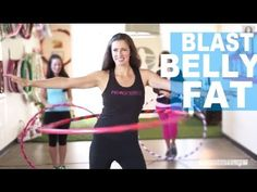 ▶ Blast Your Belly Fat With a Hula Hoop | Fitness Tips | NewBeauty Body - YouTube