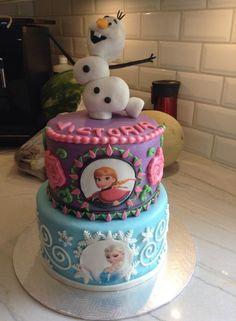 Cake gâteau Frozen reine des neige Olaf