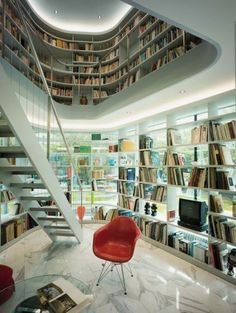 Elegant home library