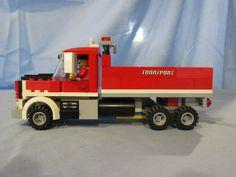 Lego Furniture, Lego Truck, Lego Construction, Lego Models, Transportation, Trucks, Vehicles, Diy, Aluminum Cans