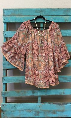 RESTOCK So happy to have our PAISLEY AS A PEACH BACK IN STOCK in all SIZES S-XXL!!!! Gorgeous!!!!   LINK: http://www.paisleygraceboutique.com/products/paisley-as-a-peach