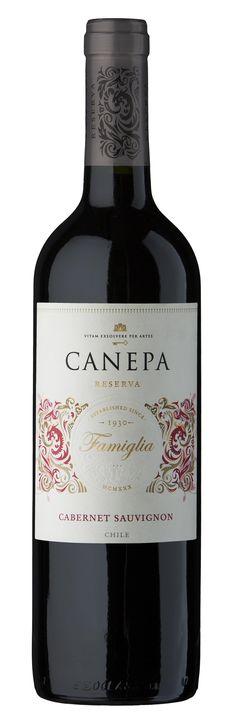 Famiglia – Cabernet Sauvignon   Canepa   Wines