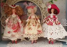 Lucy Bloom Clothespin Dolls