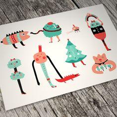 Happy Winter Friends by ChiChiLand